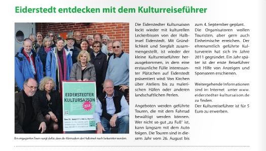 Friesenanzeiger, Ausgabe August 2016