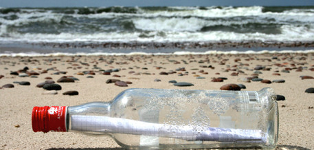 Oliver Lück erzählt Flaschenpostgeschichten