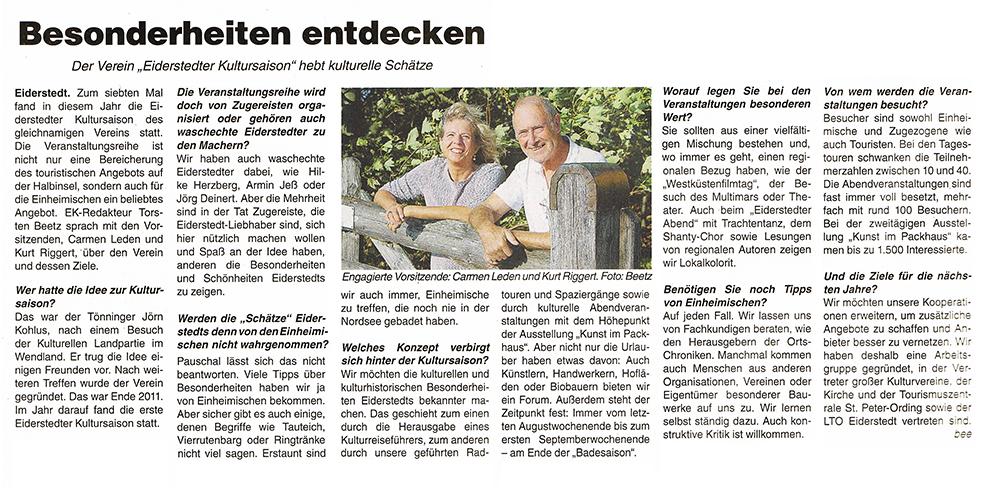 Eiderkurier / 25. September 2018 width=