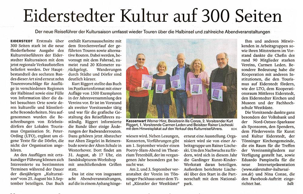 Husumer Nachrichten - 05.09.2016
